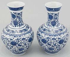 Obsessed with blue and white Chinese pottery right now