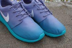 Nike WMNS Roshe Run - Iron Purple Gradient