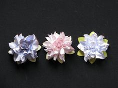 SIMPLY PAPER: Elegant ruffled flower tutorial