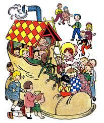 104 Best Old Woman Lived In Shoe Images Mother Goose Nursery