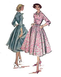 McCalls 4074  1950s Rockabilly Dress pattern  by retroactivefuture, $15.00