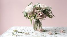 Ask Ella: Fill Up Your Bouquet With Rice Flower - Garden Collage Magazine Fern Bouquet, Collage, Wedding Decorations, Table Decorations, Garden Styles, Wedding Flowers, Floral Design, Rose, Bouquets