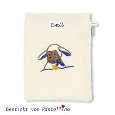 Sterntaler Waschhandschuh Ente Edda 21 x 15 cm Grau Gr/ö/ße