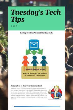 Tuesday's Tech Tips 8/18/15 - SISD Faculty Stuff
