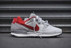 "best service 4faef a0d4c Nike has recently re-engineered one of its classic silhouettes — the  Berwuda Runner, making another appearance, in the form of this clean Pure  Platinum"" ..."