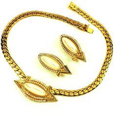 streitstones Schmuckset Kette und Ohrclips vergoldet mit Swarovski 50 % Rabatt streitstones http://www.amazon.de/dp/B00T3J5WH0/ref=cm_sw_r_pi_dp_BhY6ub091ZX51, streitstones, Halskette, Halsketten, Kette, Ketten, neclace, bling, silver, gold, silber, Schmuck, jewelry, swarovski, fashion, accessoires, glas, glass, beads, rhinestones