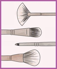 ad07fa998a Use this guide to find the perfect makeup brush for every desired look.  #EyeMakeupParty