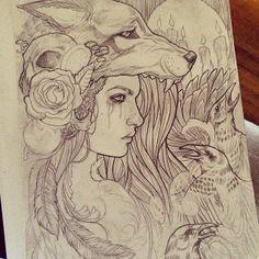 Facebook tattoo design