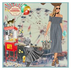 """""""Come have Fun ... Carnival!"""" by krusie ❤ liked on Polyvore featuring art"""