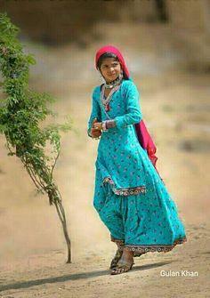Fantastic beauty of great desert area Cholistan Bahawalpur Punjab Pakistan