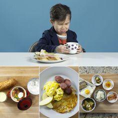 American kids react to breakfasts from around the world. breakfast recipe