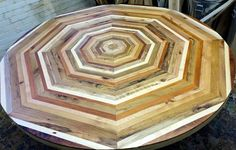 Clever Artist Collects Scrap Wood From All Over New York And Turns It Into Exquisite Furniture http://www.wimp.com/quilt-tables-scrap-wood-new-york/