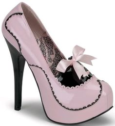 burlesque/fetish pink shoe