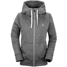 Volcom Cascara Fleece Full-Zip Hoodie (90 SGD) ❤ liked on Polyvore featuring tops, hoodies, volcom, fleece hoodie, fleece full zip hoodie, sweatshirts hoodies and volcom hoodies