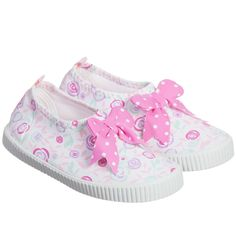 Girls Pink Pastel Floral Aqua/Beach Shoes, Archimede, Girl