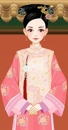 Chinese Makeup, Chinese Dolls, Fantasy Art Women, Female Art, Snow White, Disney Characters, Fictional Characters, China, Costumes