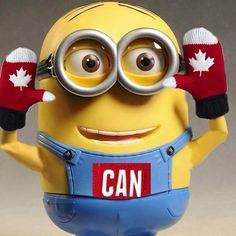 Canadian Minion :) (I have the same mitts!)°°