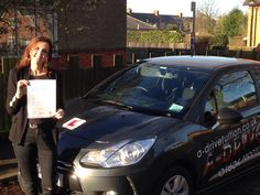 """Another successful driving test pass achieved 16/12/14 by Jackie Fowler with only 5 minor driving faults with the expert tuition of Andy McIntosh from www.adrivetuition.co.uk  01604 930031  #Driving #Adrive #DrivingTest #DrivingSchools #DrivingLessons #DrivingInstructors #Northampton #Daventry #Towcester #Wellingborough #Northants  Jackie said """"Thanks so much Andy, I'm buzzing. I didn't feel ready for my previous tests, but you definitely made me a better driver and I felt ready for this…"""