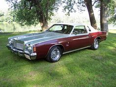 1975 Chrysler Cordoba Maintenance/restoration of old/vintage vehicles: the material for new cogs/casters/gears/pads could be cast polyamide which I (Cast polyamide) can produce. My contact: tatjana.alic@windowslive.com