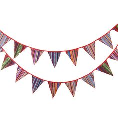 Amazon.com : KINGLAKE® 11 Feet Colorful Pennant Bunting String Banner Flags Outdoor Indoor Flag Banner Polyester Cloth Fabric Triangle Flags Decoration Flag for Birthday Parties Wedding Ceremonies Tent Camping : Patio, Lawn & Garden