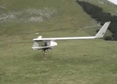 Animated Gif:  1 person fixed wing glider!