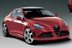 """New Alfa Romeo """"Junior"""" renderings"""