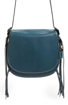 COACH 1941 'Whiplash' Leather Saddle Bag available at #Nordstrom