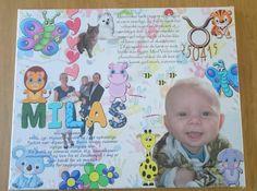 F¨designet dit eget personlige billede til børneværelset