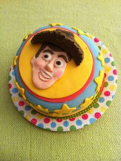 Woody Cake Toy Story Pasta Americana