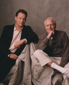 Paul Newman & Tom Hanks. If you haven't seen Road to Perdition,  I definitely recommend it.