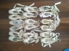 Used Pointe Shoes