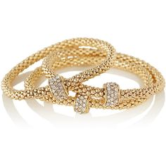 The Limited Textured Stretch Bracelets Gold ($35) ❤ liked on Polyvore featuring jewelry, bracelets, gold, gold jewelry, yellow gold bracelet, gold bracelet bangle, fake jewelry и gold bangles