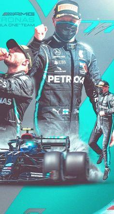 Valtteri Bottas, Lewis Hamilton, Formula One, F1, Legends, Racing, Sports, Blue, Fictional Characters