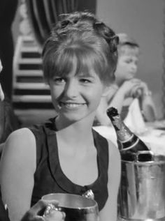 1963 - Jane Asher in an episode of The Saint.