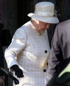 August 4, 2014 - Queen Elizabeth attended a service at Crathie Kirk Church in Crathie, Aberdeenshire, Scotland, in commemoration of the 100th anniversary of the start off WW I