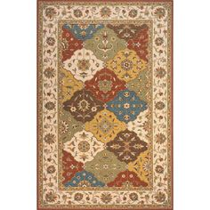 Persian Garden Assorted Colors Rug - PG-11-Assorted By Momeni Rugs