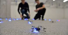 You can teach drones to fly together. Just ask their instructor http://www.remote-control-drones.com