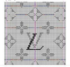 Knitting Charts, Knitting Patterns, Cross Stitch Designs, Cross Stitch Patterns, Louis Vuitton Pattern, Tapestry Crochet Patterns, Cross Stitch Freebies, Hungarian Embroidery, Cross Stitch Alphabet