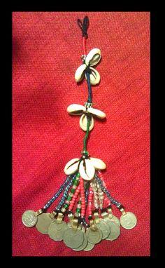 Tribal Banjara Beaded Tassel by kungfubellydancer.deviantart.com on @deviantART