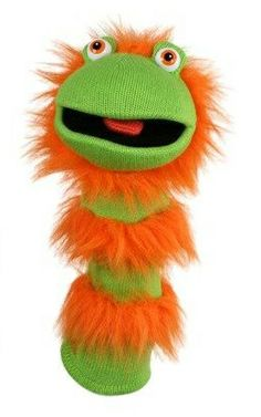 Ginger the Sock Puppet -  Oh so bright..  http://www.puppetgifts.com/sock-puppets/ginger-the-sock-puppet.html