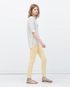 ZARA - NEW THIS WEEK - PROMODAL 5-POCKET JEANS