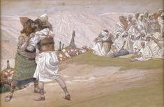 The Meeting of Esau and Jacob - James Tissot, c.1902, 291/451.