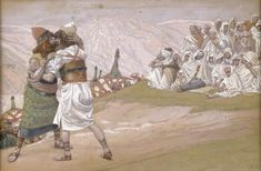 The Meeting of Esau and Jacob - James Tissot, c.1902, 291/451.