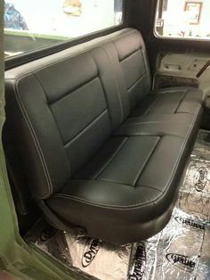Reapolstered Factory Bench Seat