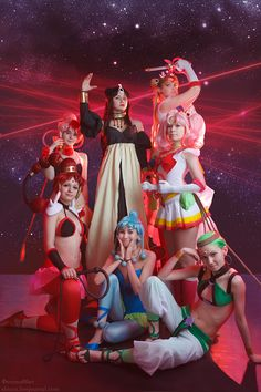 Sailor Moon Super 1 by ~Usagi-Tsukino-krv on deviantART Now this is one impressive Sailor Moon group. Love that they have the Amazoness Quartet