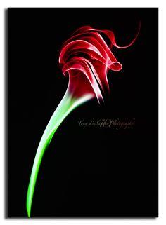'Smoke Rose Abstract' by Tony DeSantis, via 500px