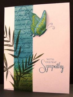 Eloquence With Sympathy by Auntie Susan - Cards and Paper Crafts at Splitcoaststampers