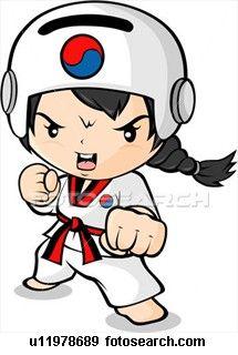 Risultato immagini per taekwondo girl drawings Taekwondo Girl, Motivational Images, Judo, Cartoon Kids, Martial Arts, Smurfs, Art Drawings, Hello Kitty, Clip Art