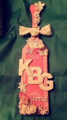 Kappa Beta Gamma sorority paddle