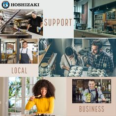 Support Your Local Business. They Run Best with HOSHIZAKI Ice Machines, Merchandisers, Fridges, Freezers, Sandwich & Pizza Prep Tables, Dispensers, Display Cases, Equipment Stands, MODwater & Bar Equipment #Hoshizaki #SupportLocalbusiness #HoshizakiAmerica Hoshizakiamerica.com Sushi Case, Support Local Business, Best Commercials, Freezers, Restaurant Equipment, Display Cases, Great Restaurants, Restaurant Design, Refrigerator
